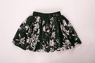 Sukne - Dievčenská suknička - 8777678_