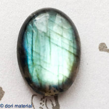 Minerály - labradorit 19 x 14 x 5 mm - 8780800_