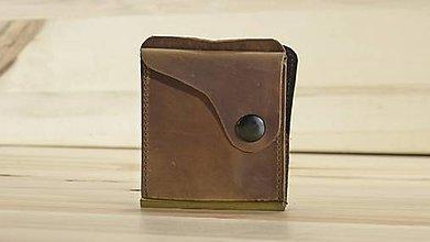 Peňaženky - Kožená dolarovka - Vykrojená - 8778769_