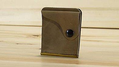 Peňaženky - Kožená dolarovka - Vykrojená - 8778809_