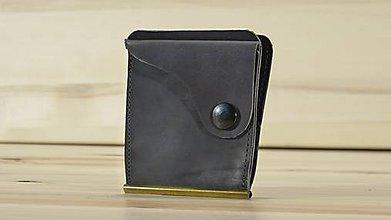 Peňaženky - Kožená dolarovka - Vykrojená - 8778818_