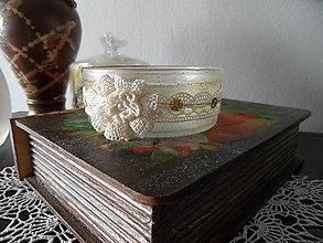 Svietidlá a sviečky - svietničky (Béžová) - 8778719_