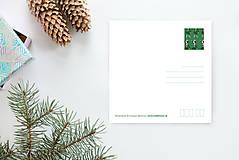 Grafika - Vianočná pohľadnica - 8779143_