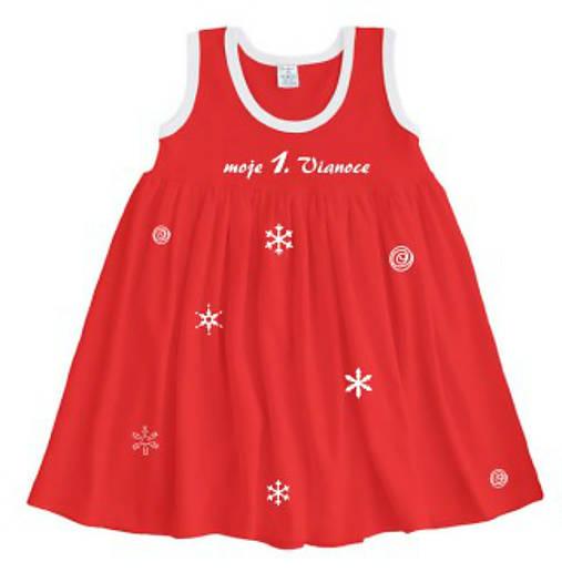 2d2417172a7e Dievčenské vianočné šaty   ele-ele - SAShE.sk - Handmade Detské ...