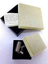 Náramky - Mini soutache náramok (meď/bronzový) - 8780049_