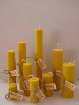 Svietidlá a sviečky - Točené sviečky valcové - 8777913_