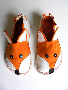 Obuv - Fox slippers - 8777087_