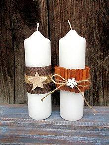Svietidlá a sviečky - Vianočné sviečky - 8778353_