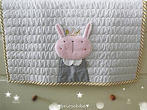 Textil - deka s princeznou - 8777100_