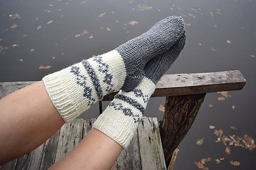 5dc830cd8 Pánske hrubé ponožky maslovošedé (v.40-41) / Eva64 - SAShE.sk ...