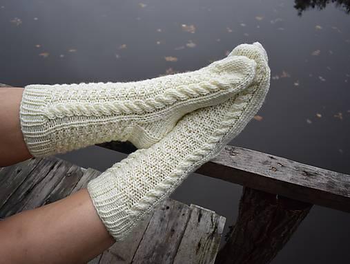 e9179cf5d Hrubé pánske ponožky s osmičkami (v.44-45) / Eva64 - SAShE.sk ...