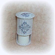 Košíky - Zásobník na toaletný papier na 3 ks - 8779948_