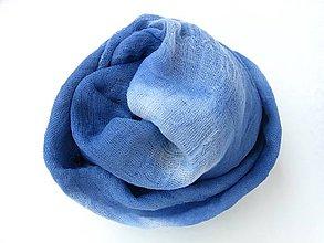 """Šály - """"Obláčko"""" batikovaný bavlnený   šál  SKLADOM:-) - 8781114_"""