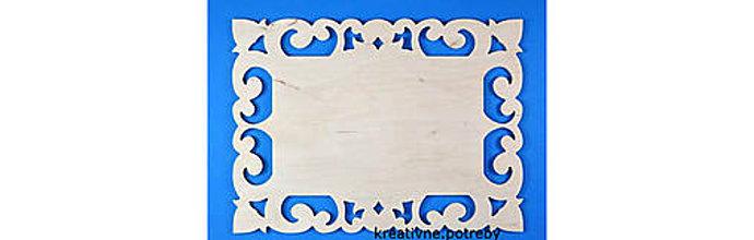 Polotovary - Tabuľka vyrezaná obdĺžnik 02, ihneď - 8779997_