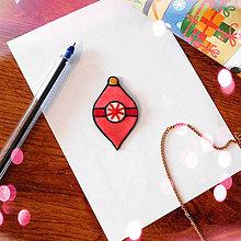 Magnetky - ★ Vianočná magnetka cartoon (vianočná ozdoba) - 8778880_