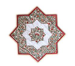 Úžitkový textil - Vianočný obrus stredový - 8785250_