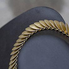 Náhrdelníky - Exclusive - náhrdelník ve zlaté - 8782592_