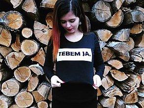 Tričká - TEBEM JA (DÁMSKE - ČIERNE) - 8785491_