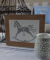 Dekorácie - Drevená tabuľka - 8783777_