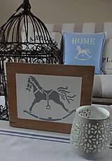 Dekorácie - Drevená tabuľka - 8783779_