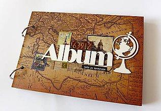 Papiernictvo - album na fotografie cestovateľský - 8782567_
