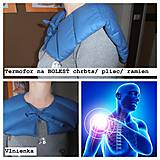 Ohrievací GOLIER  na BOLESŤ Šije/ Ramená/ Plecia /CHRBTICA/ zamrznuté rameno/ bolestivé PLECE/ svalstvo/ kĺby