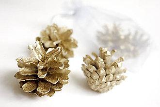 Suroviny - Šišky (Zlatá) - 8784741_