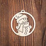 Dekorácie - Vianočná ozdoba - kruh 60 - 8783181_