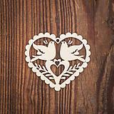 Dekorácie - Drevená ozdoba 4 - 8784102_