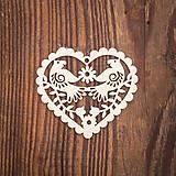 Dekorácie - Drevená ozdoba 6 - 8784118_
