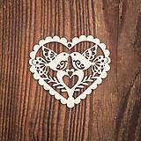 Dekorácie - Drevená ozdoba 7 - 8784124_