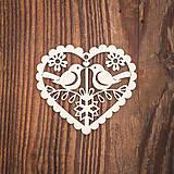 Dekorácie - Drevená ozdoba 8 - 8784138_