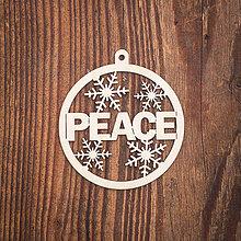 Dekorácie - Vianočná ozdoba - kruh 53 - 8783101_