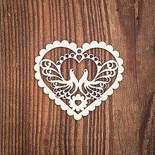 Dekorácie - Drevená ozdoba 5 - 8784110_