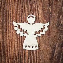 Dekorácie - Drevená ozdoba 17 - 8784321_