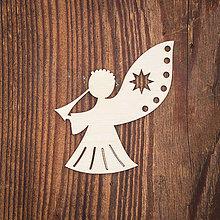 Dekorácie - Drevená ozdoba 18 - 8784335_