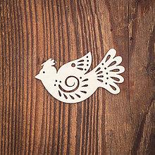 Dekorácie - Drevená ozdoba 19 - 8784352_