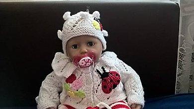 Hračky - Lienka - oblečenie pre bábiku - 8783099_