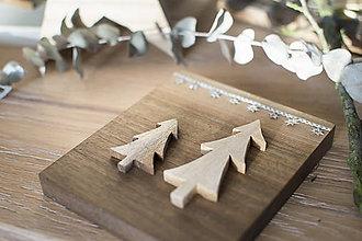 Dekorácie - Vianočné stromčeky 3 - 8783619_