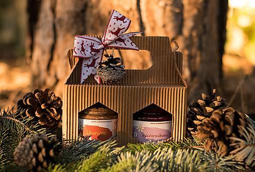Darčekové balenie na 2 ochutené medy