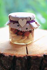 Potraviny - Med s orieškami/ sušeným ovocím (Mix orechov (vlašské, mandle, lieskovce, arašídy)) - 8786263_