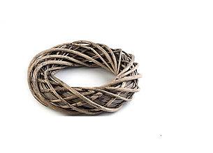 Polotovary - Prútený veniec prírodný 30cm - 8787534_