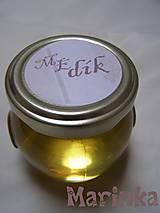 Darčeky pre svadobčanov - Medíky pre svadobčanov s originálnou visačkou - 8787674_
