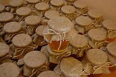 Darčeky pre svadobčanov - Medíky pre svadobčanov s originálnou visačkou - 8787675_