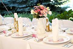 Darčeky pre svadobčanov - Medíky pre svadobčanov s originálnou visačkou - 8787681_