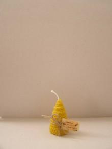 Svietidlá a sviečky - Točená sviečka stromček - 8787505_