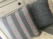 Úžitkový textil - Vankúše prešívané na želanie - 8782925_