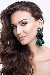 Náušnice - Emerald - 8782432_