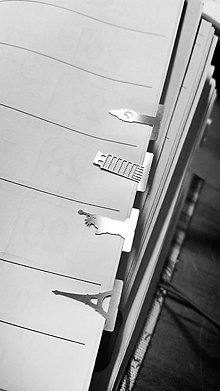 Papiernictvo - Mini kovové záložky - 4+1 Zdarma (Cestovateľské) - 8785329_