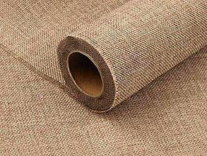 Textil - Juta - imitácia vrecoviny - 8784330_